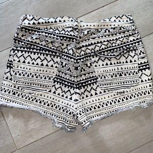 Bullhead Shorts - Bullhead Denim patterned shorts